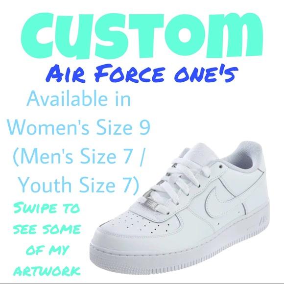 nike air force 1 custom ideas
